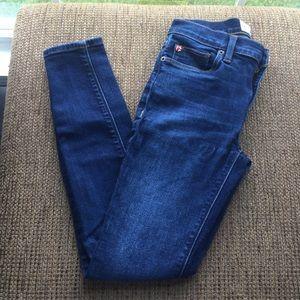 Hudson Natalie Super Skinny Dark wash jeans